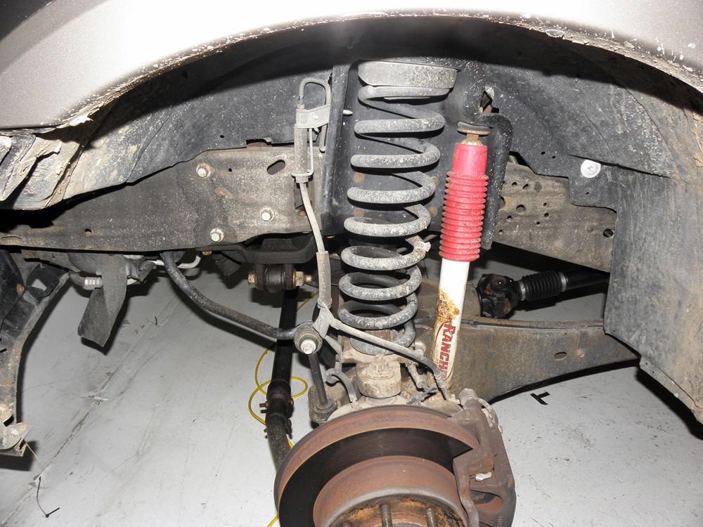 Timbren Rear Suspension Enhancement System Installation