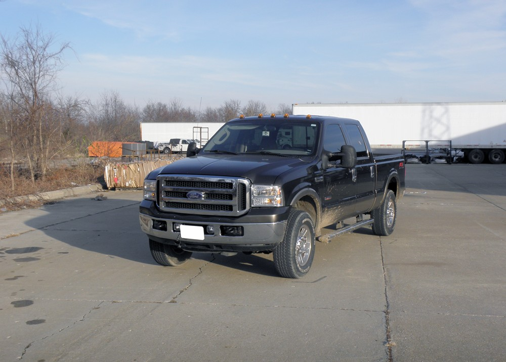 2005 Ford F 250 And F 350 Super Duty Vehicle Suspension