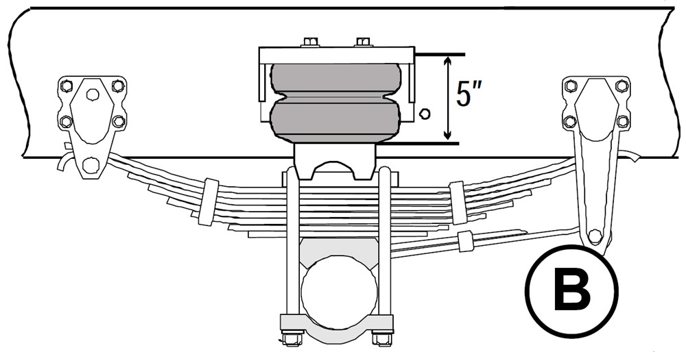 2015 freightliner columbia timbren rear suspension enhancement system