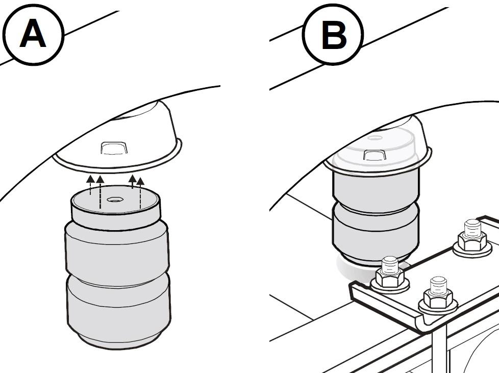 1986 chevrolet blazer timbren rear suspension enhancement