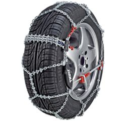 Thule Self-Tensioning Snow Tire Chains - Diamond Pattern - D Link - CS10 - Size 090