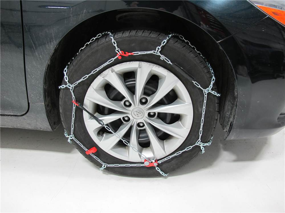 Konig Standard Snow Tire Chains - Diamond Pattern - D Link ...