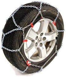 Thule Standard Snow Tire Chains - Diamond Pattern - D Link - XB16 - Size 247