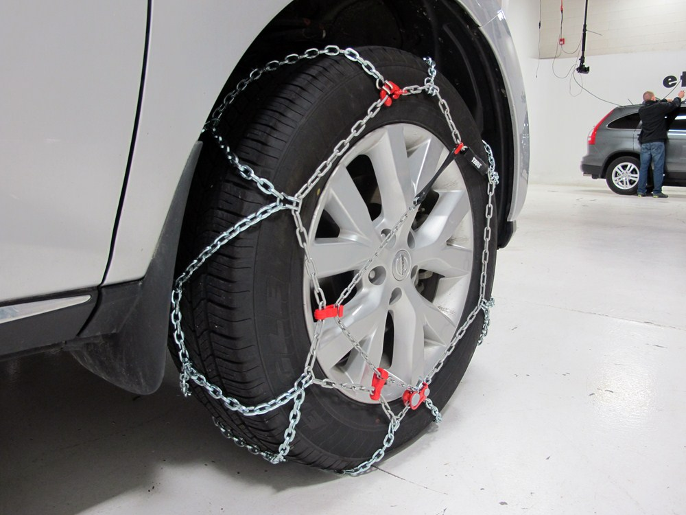 2011 acura mdx tire chains thule. Black Bedroom Furniture Sets. Home Design Ideas