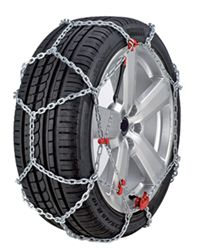 Konig Standard Snow Tire Chains - Diamond Pattern - D Link - XB16 - Size 265