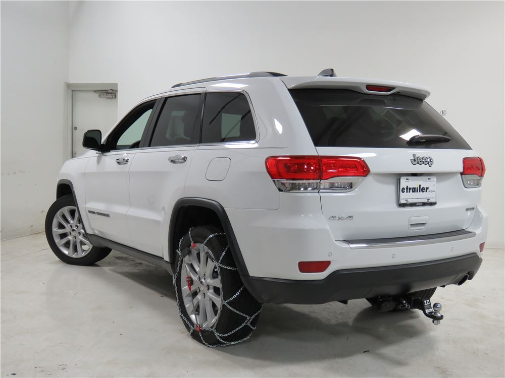 2015 jeep grand cherokee konig self tensioning snow tire chains diamond pattern d link. Black Bedroom Furniture Sets. Home Design Ideas