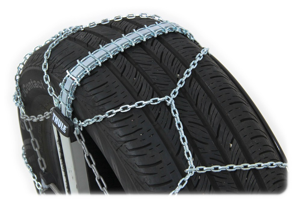 Thule Self Tensioning Low Pro Snow Tire Chains Diamond