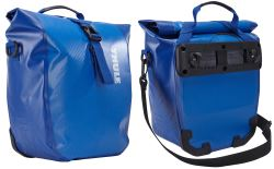 Thule Pack 'n Pedal Shield Pannier Bags for Bike Racks - 14 Liters - Cobalt - Qty 2