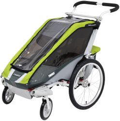 Thule Cougar Stroller - 1 Child - Green