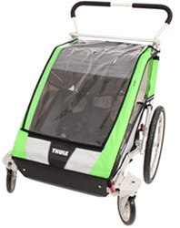 Thule Cheetah Stroller - Sport Series - 2 Child - Green/Black/Silver - Newborn and Older