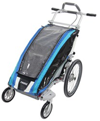Thule CX Stroller - Sport Series - 1 Child - Blue/Gray/Silver - Newborn and Older