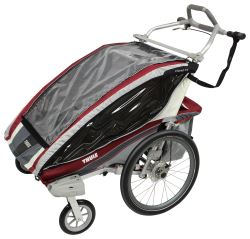 Thule CX Stroller - 2 Child - Red