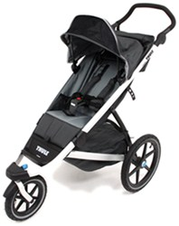 Thule Urban Glide Stroller and Jogger - 1 Child - 6 Months and Up - Gray