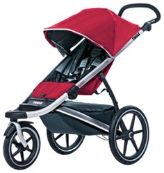 Thule Urban Glide Stroller and Jogger - 1 Child - 6 Months and Up - Red