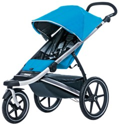 Thule Urban Glide Stroller and Jogger - 1 Child - 6 Months and Up - Blue