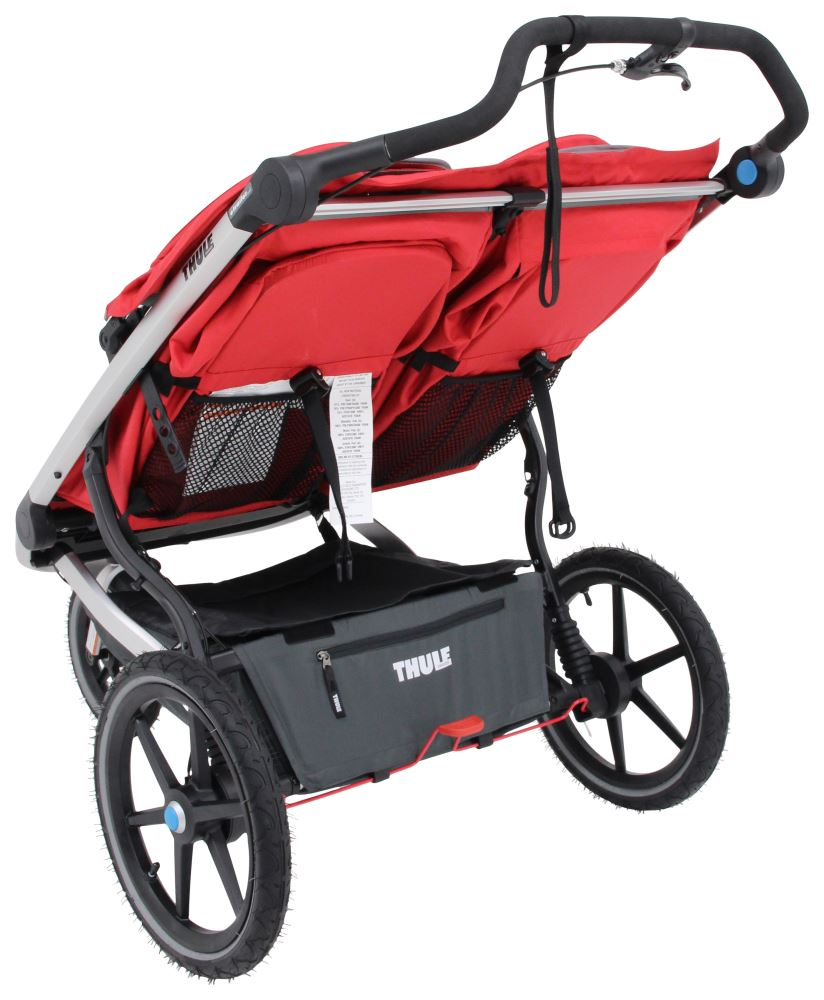 Thule Urban Glide Stroller and Jogger - 2 Child - Red ...