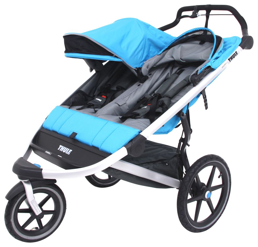 Thule Urban Glide Stroller and Jogger - 2 Child - Blue ...
