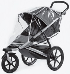 Transparent Rain Cover for Thule Glide and Urban Glide Strollers