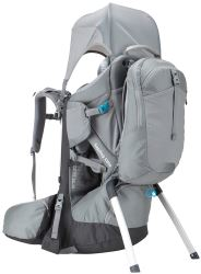 Thule Sapling Elite Child Carrier Backpack for Hiking - Gray