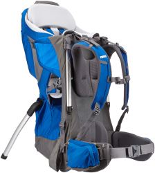 Thule Sapling Elite Child Carrier Backpack for Hiking - Gray and Blue