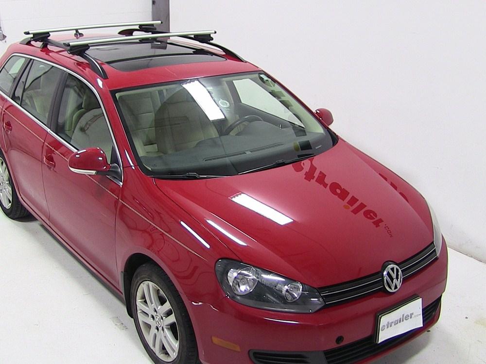 Roof Rack For Volkswagen Jetta Sportwagen 2011 Etrailer Com
