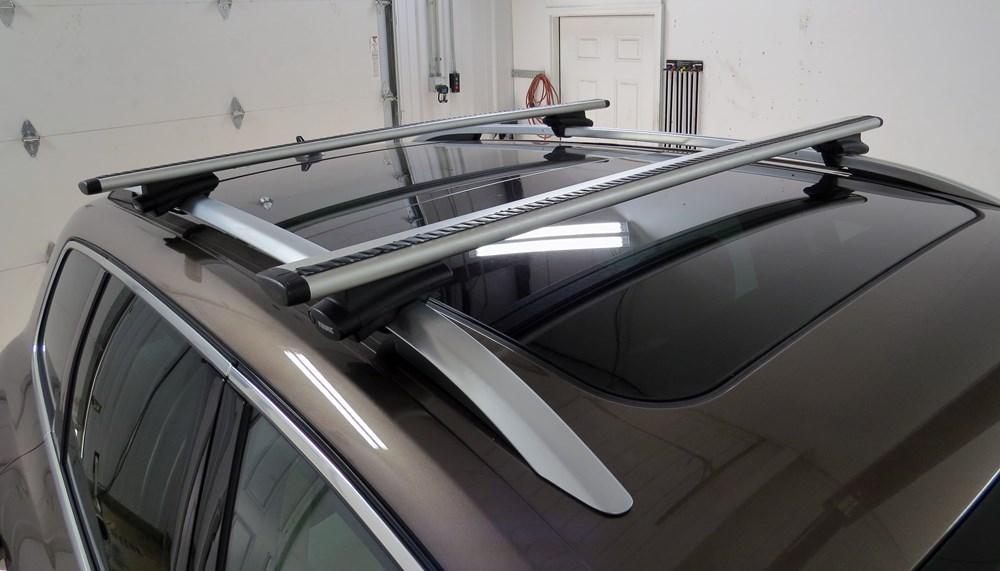Thule Roof Rack For 2012 Touareg By Volkswagen Etrailer Com