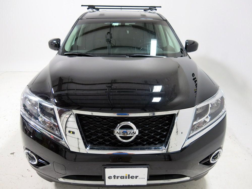 Thule Roof Rack For Nissan Pathfinder 2011 Etrailer Com