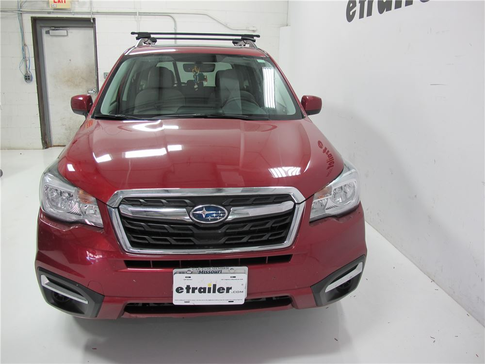 Thule Roof Rack For Subaru Forester 2014 Etrailer Com