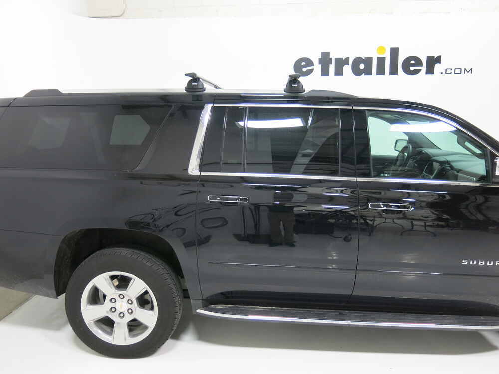 Thule Roof Rack For 2015 Suburban By Chevrolet Etrailer Com
