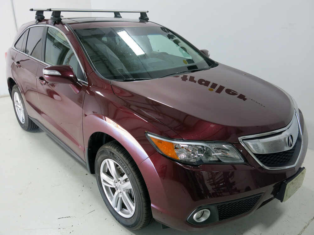 Installation Of The Thule Traverse Roof Rack On A 2013  Thule Roof Rack for Acura RDX, 2014 | etrailer.com