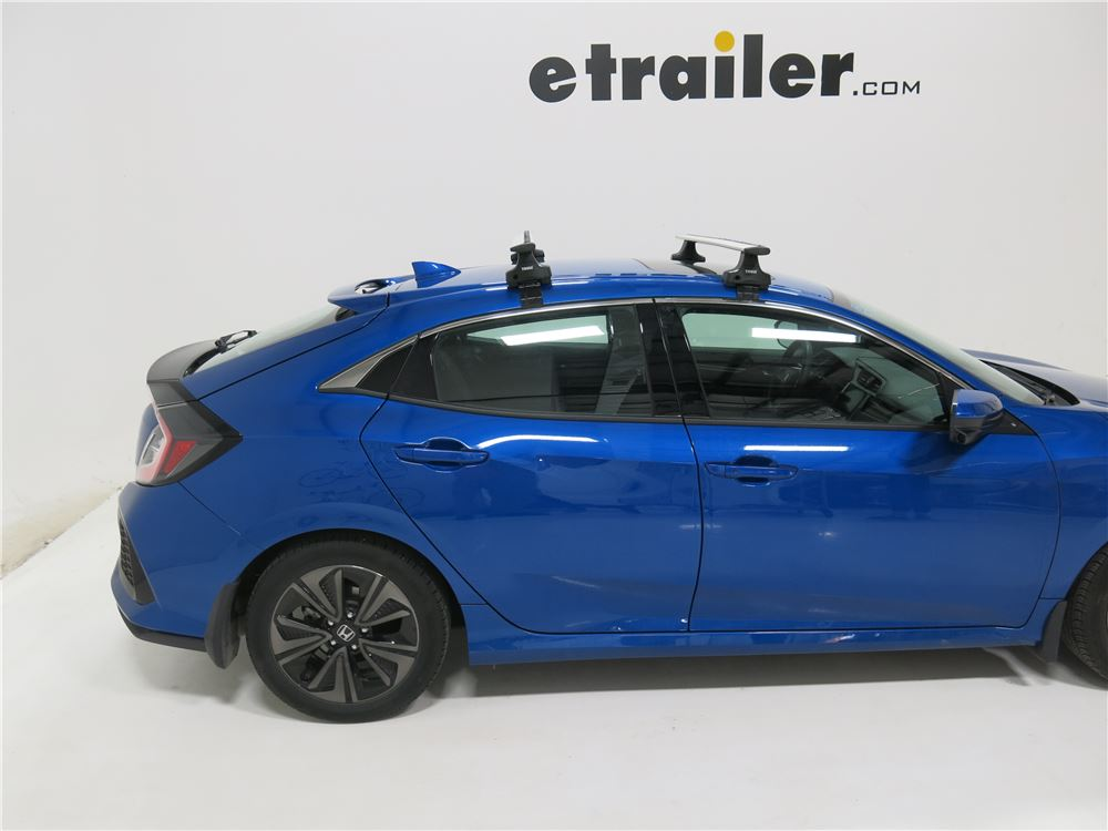 2016 Honda Civic Thule Rapid Traverse Roof Rack Foot Pack