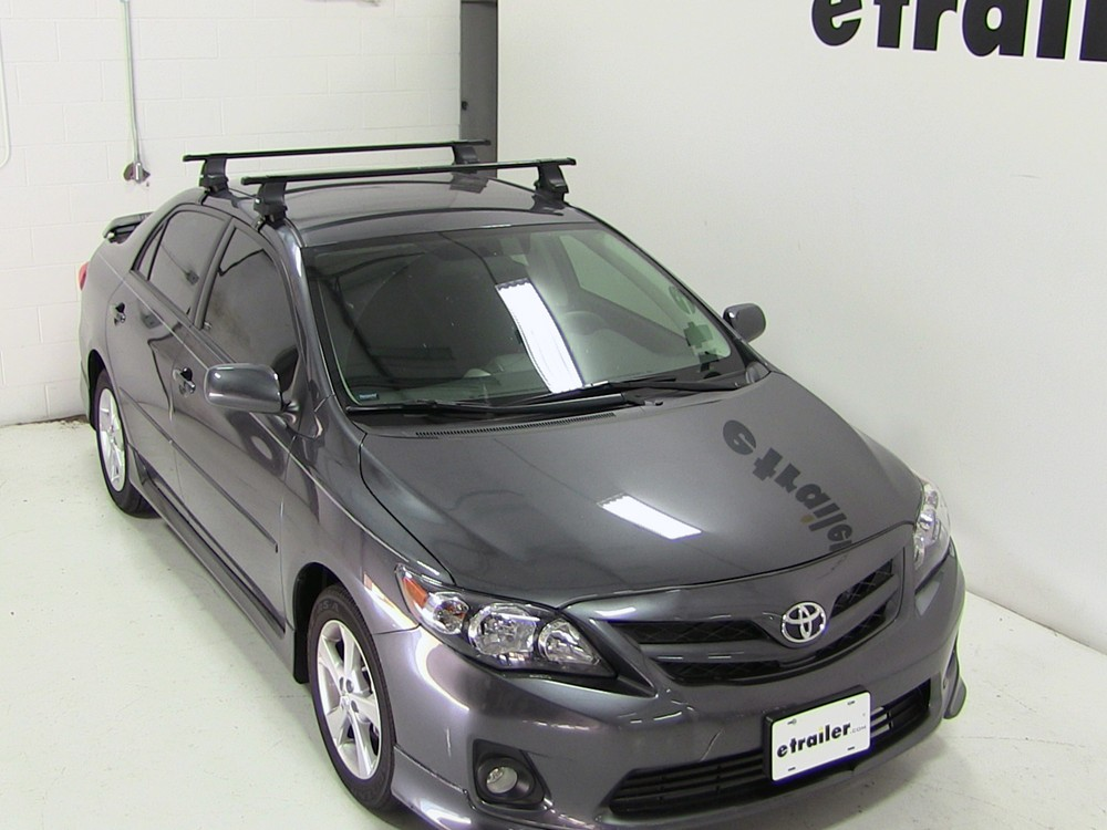 2012 Toyota Corolla Thule Traverse Roof Rack Foot Pack