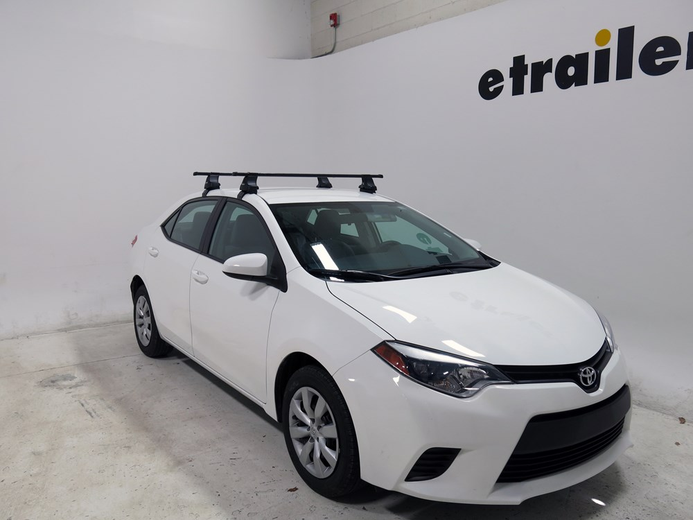 Thule Roof Rack For 2010 Toyota Corolla Etrailer Com