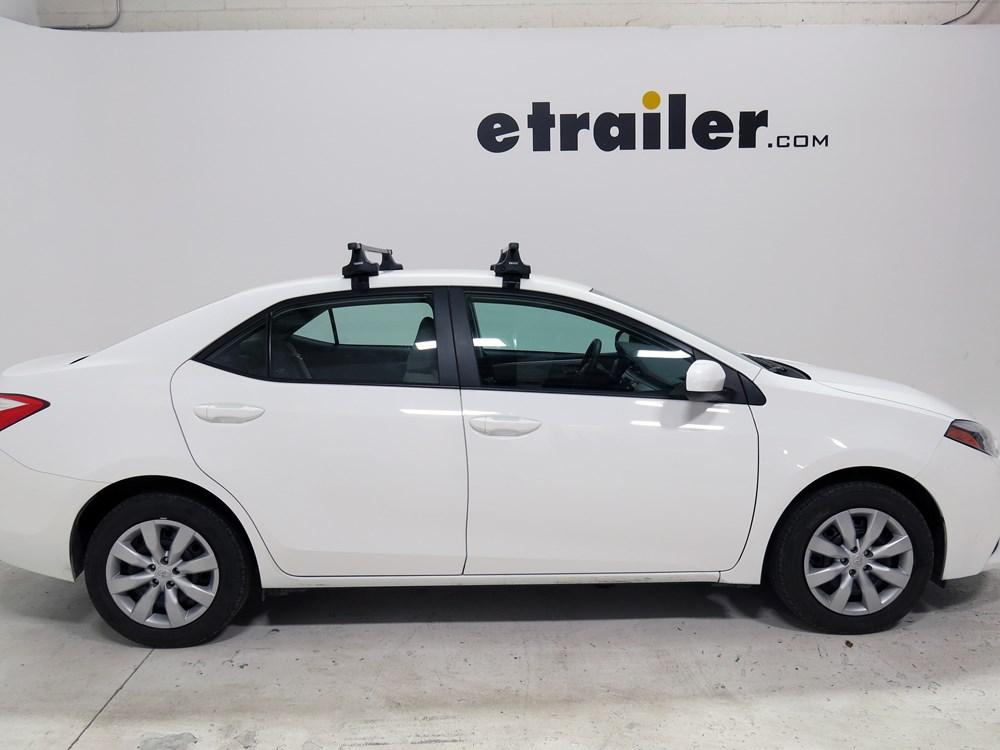 Thule Roof Rack For Toyota Corolla 2014 Etrailer Com