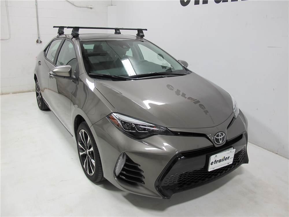 Thule Roof Rack For 2010 Toyota Corolla Etrailer Com