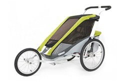 Thule Cougar Jogger and Stroller - 1 Child - Green