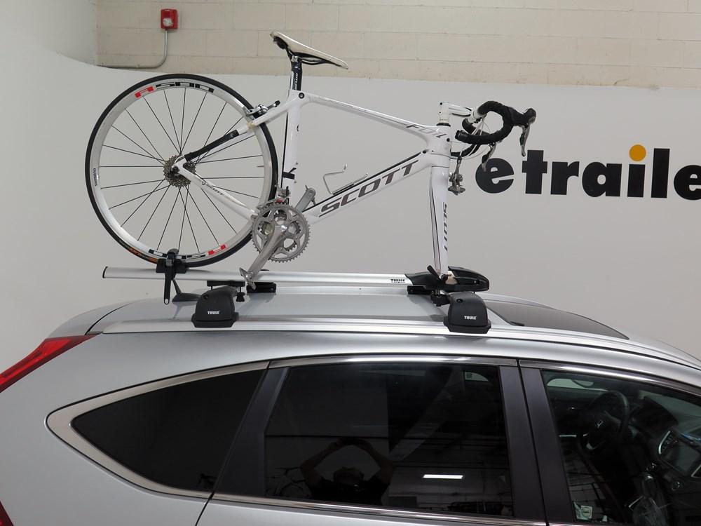 2015 Honda Cr V Thule Thruride Roof Bike Rack Thru Axle