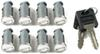 Thule One-Key System Lock Cylinders - Qty 8