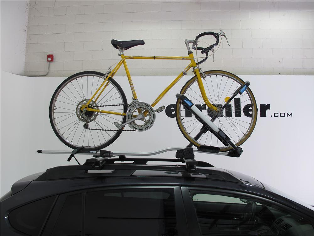Thule Upride Roof Bike Rack Wheel Mount Clamp On