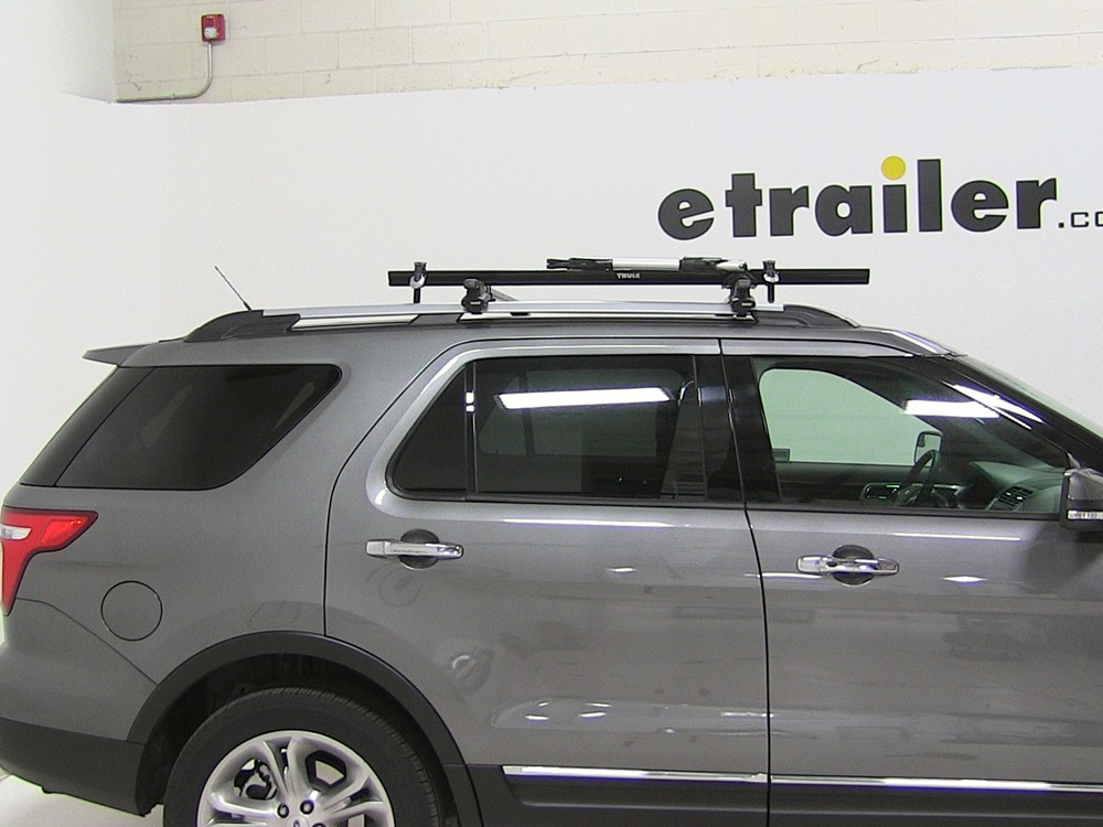 2004 Ford Explorer Thule Big Mouth Roof Mounted Bike Rack