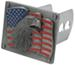 Siskiyou Flag and Political Hitch Covers