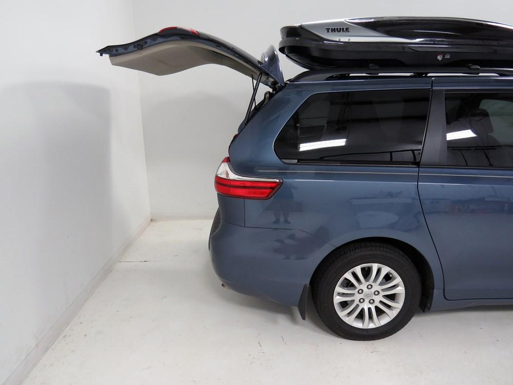 Toyota Sienna Thule Hyper Xl Rooftop Cargo Box 17 Cu Ft
