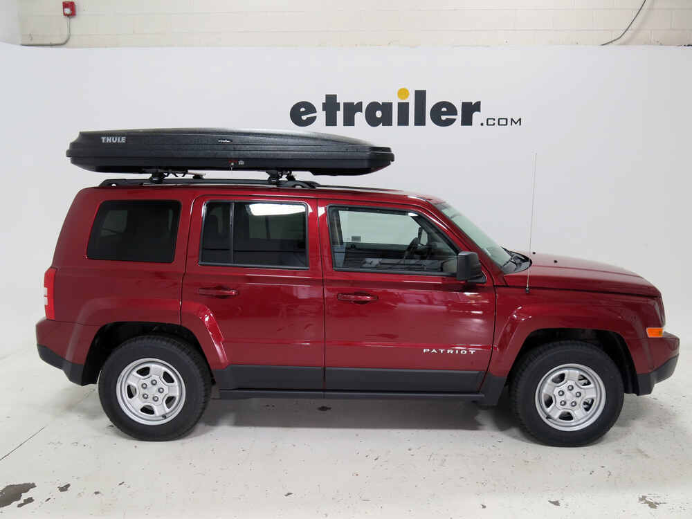 2015 jeep patriot thule pulse alpine rooftop cargo box. Black Bedroom Furniture Sets. Home Design Ideas