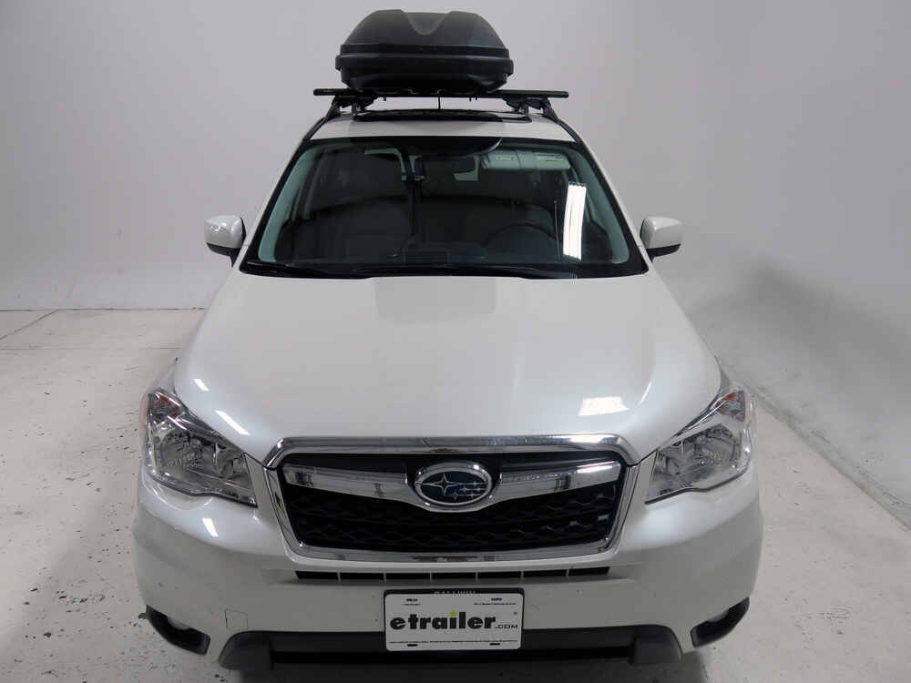 2016 Subaru Forester Thule Pulse Large Rooftop Cargo Box