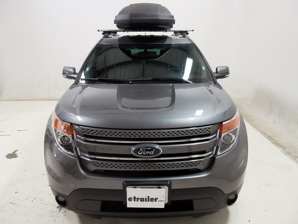 Ford Explorer Thule Force Xxl Rooftop Cargo Box 21 Cu Ft