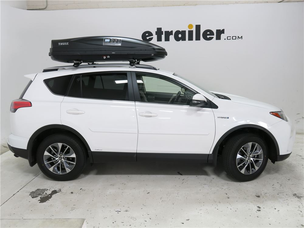 Jeep Grand Cherokee Thule Force Large Rooftop Cargo Box ...