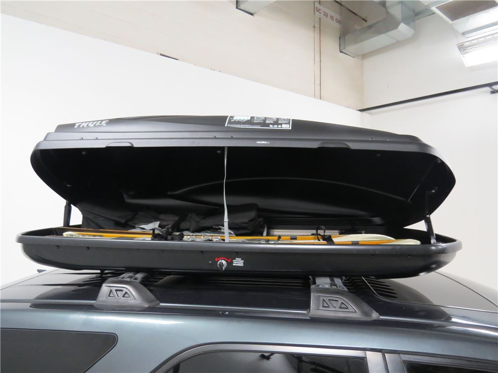 Jeep Grand Cherokee Thule Force Large Rooftop Cargo Box