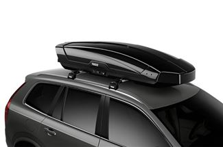 Thule Motion Xt Rooftop Cargo Box 18 Cu Ft Black Glossy Thule Roof Box Th629806