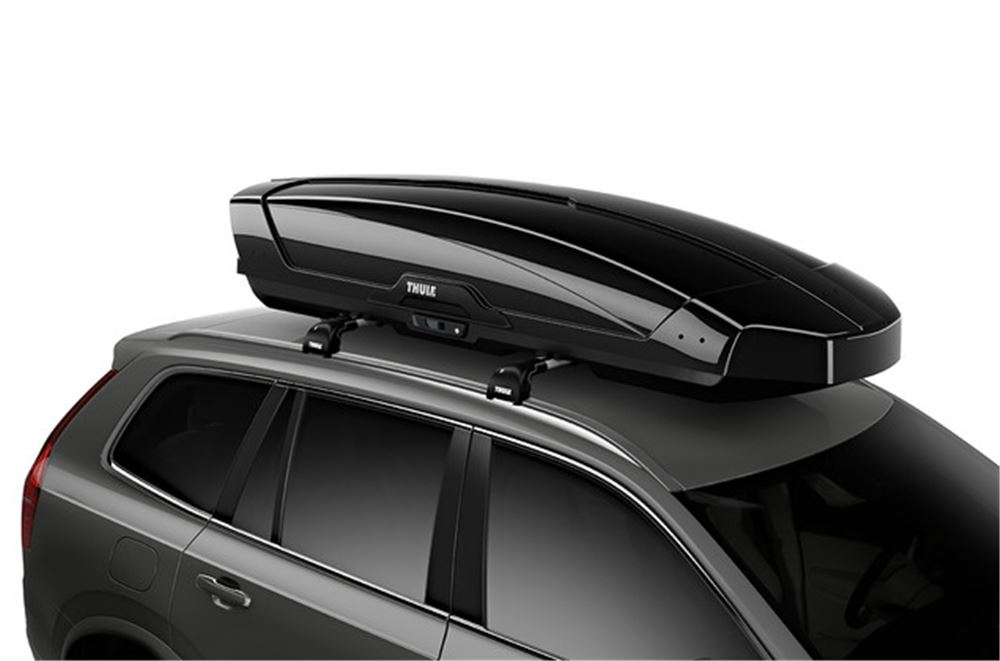 thule motion xt rooftop cargo box 22 cu ft black glossy thule roof box th6299b. Black Bedroom Furniture Sets. Home Design Ideas