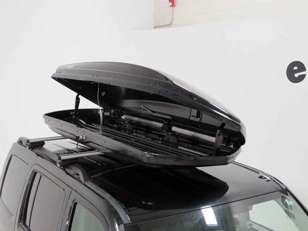 Ford Explorer Thule Sonic Xl Rooftop Cargo Box 17 Cu Ft